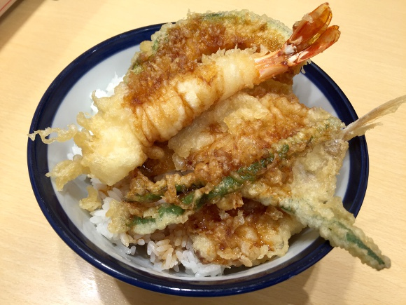 japanese tendon dish