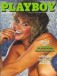 Linda Blair nude Playboy Italy