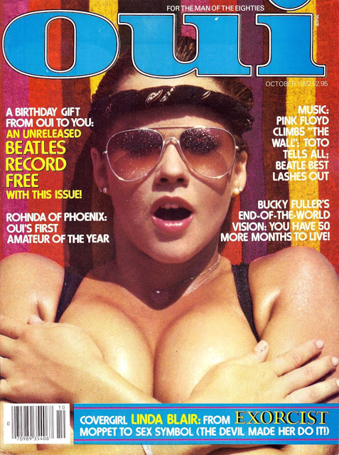 Linda Blair Oui magazine naked pictures