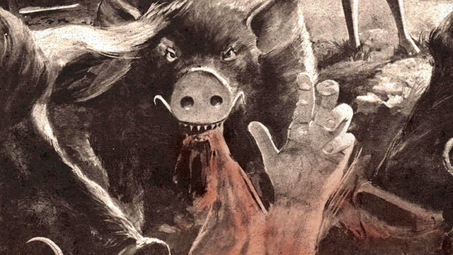 pigs-horror movie blu-ray