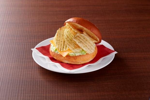 potato chip burger