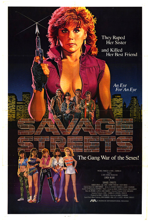 Savage Streets Linda Blair