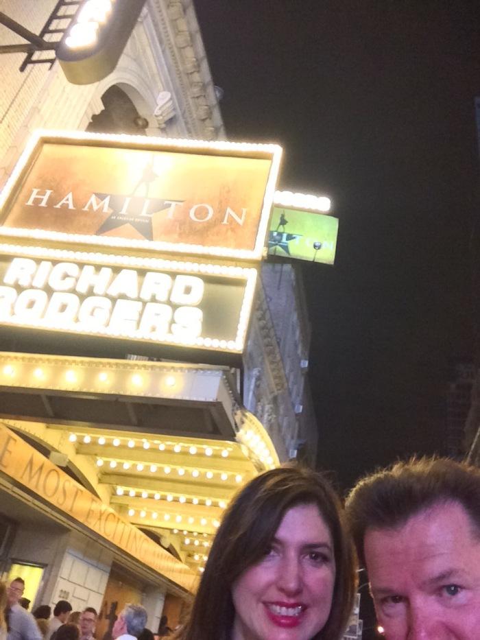 Alex Duda John Rieber Hamilton Broadway