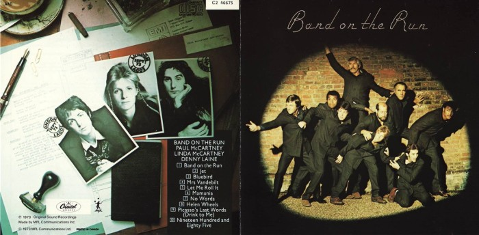 band on the run_cd Paul McCartney and Wings