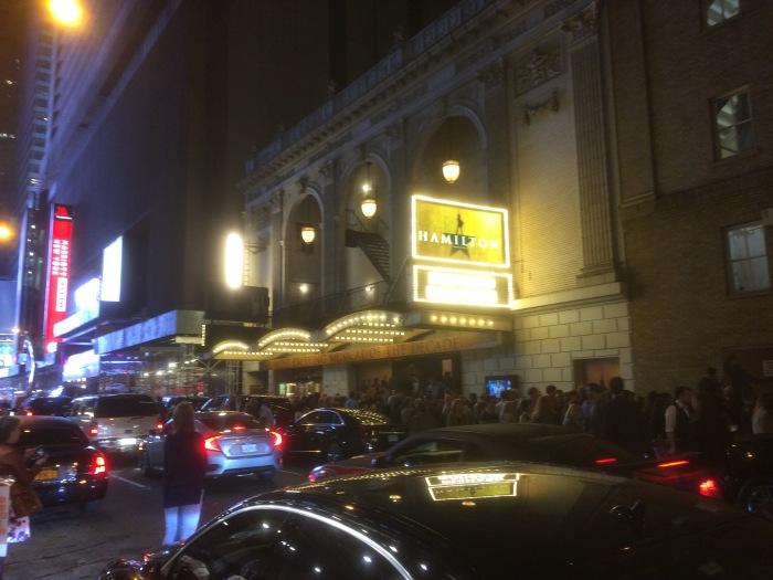 Broadway outside Hamilton