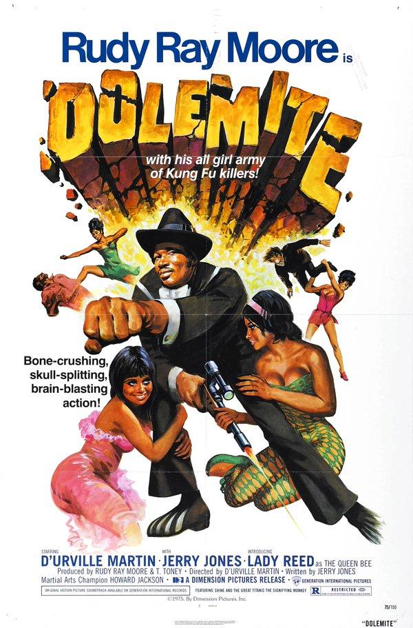Dolemite movie poster