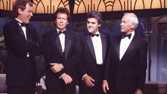 Johnny Carson and lat enight hosts