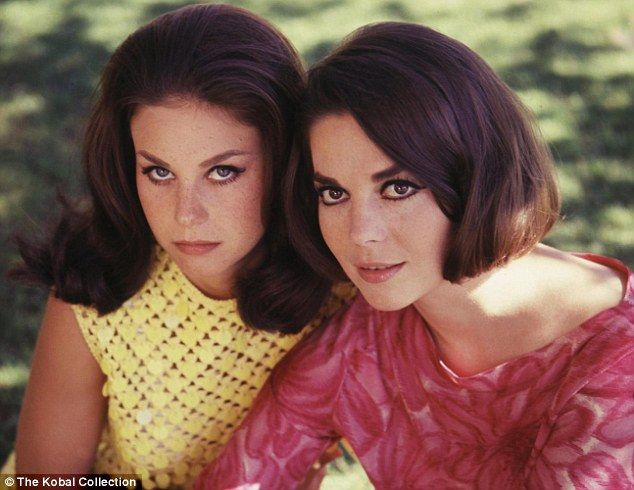 Lana Wood and Natalie Wood