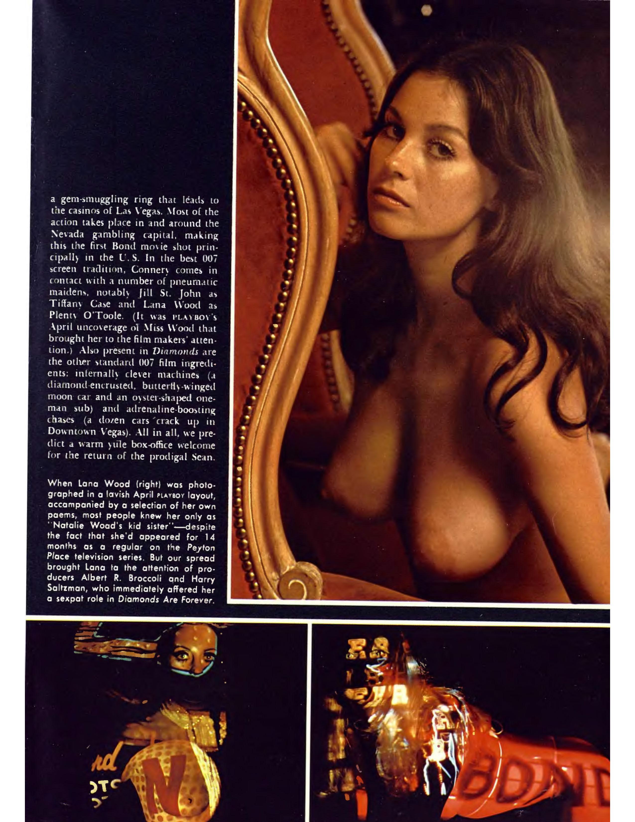 Lana Wood nude 007 sex kitten
