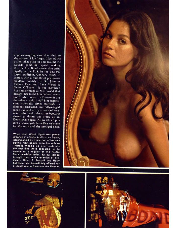 Lana Wood nude 007 sex kitten