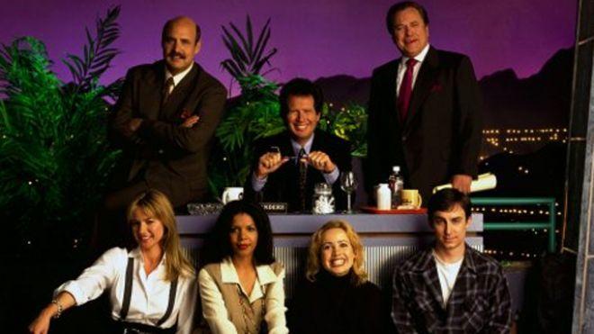 Larry Sanders show cast