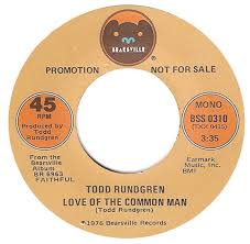 Love Of The Common Man Todd Rundgren