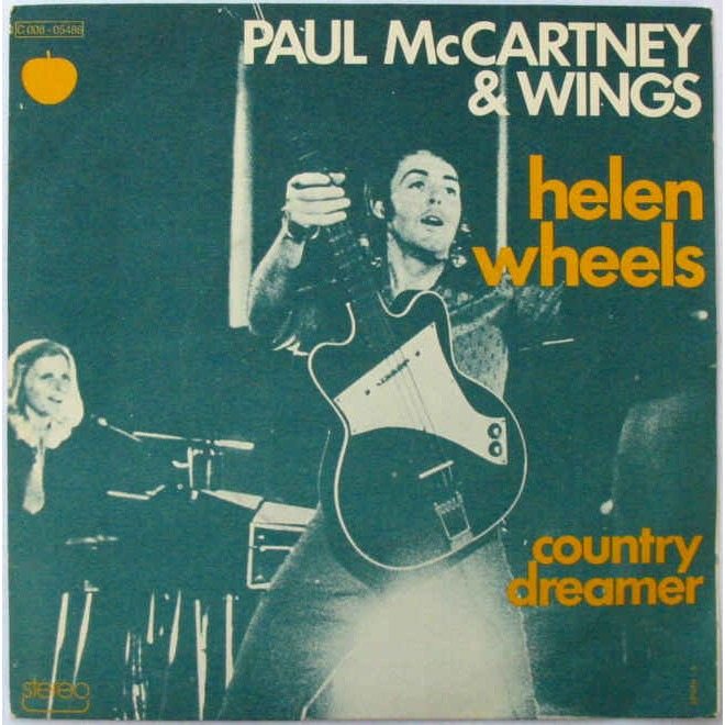 Paul McCartney Helen Wheels