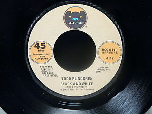 Todd Rundgren Black and White