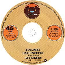 Todd Rundgren Black Maria