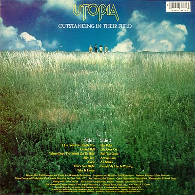Utopia Deface The Music Todd Rundgren
