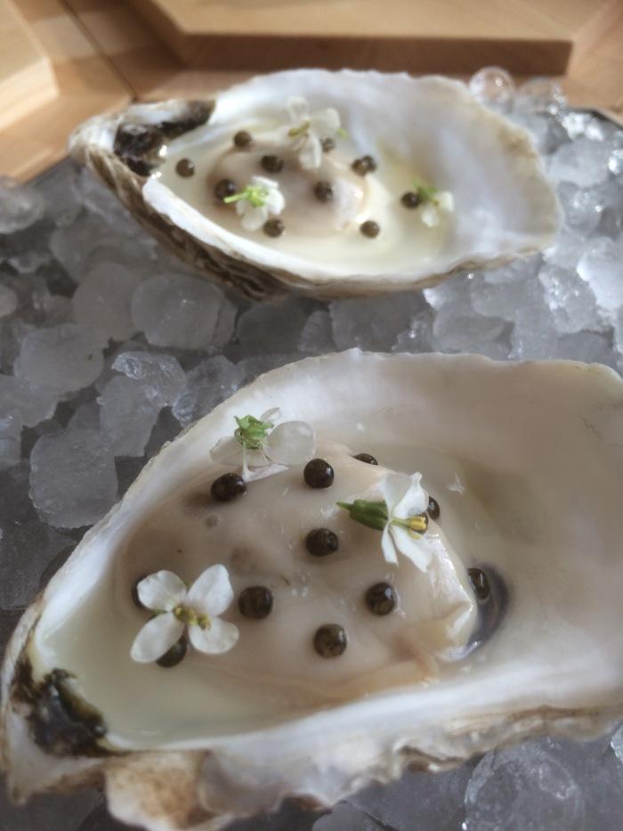 11 Madison Park oyster dish