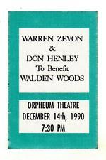 Don Henley Warren Zevon