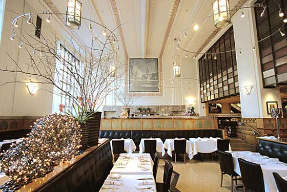 eleven madison park restaurant interior
