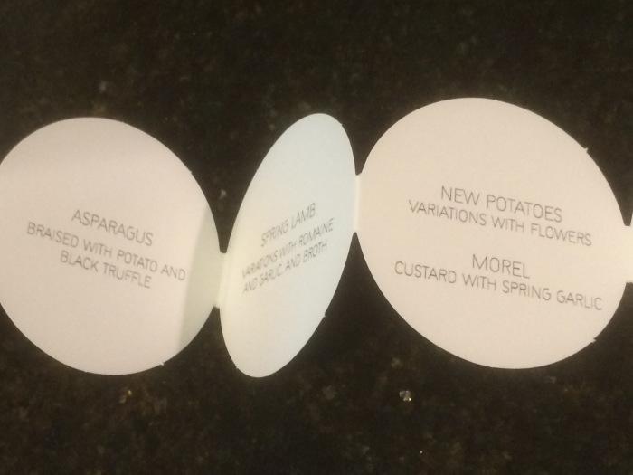 EMP menu circles