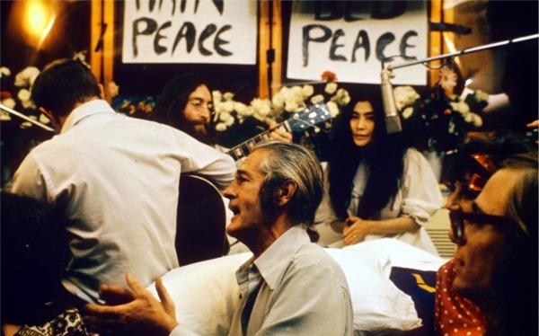 Give Peace A chance John Lennon recording