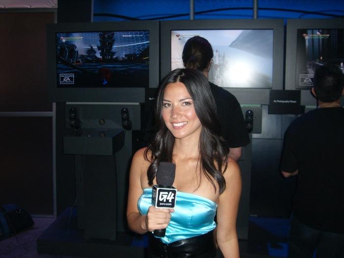 Olivia Munn G4 Host