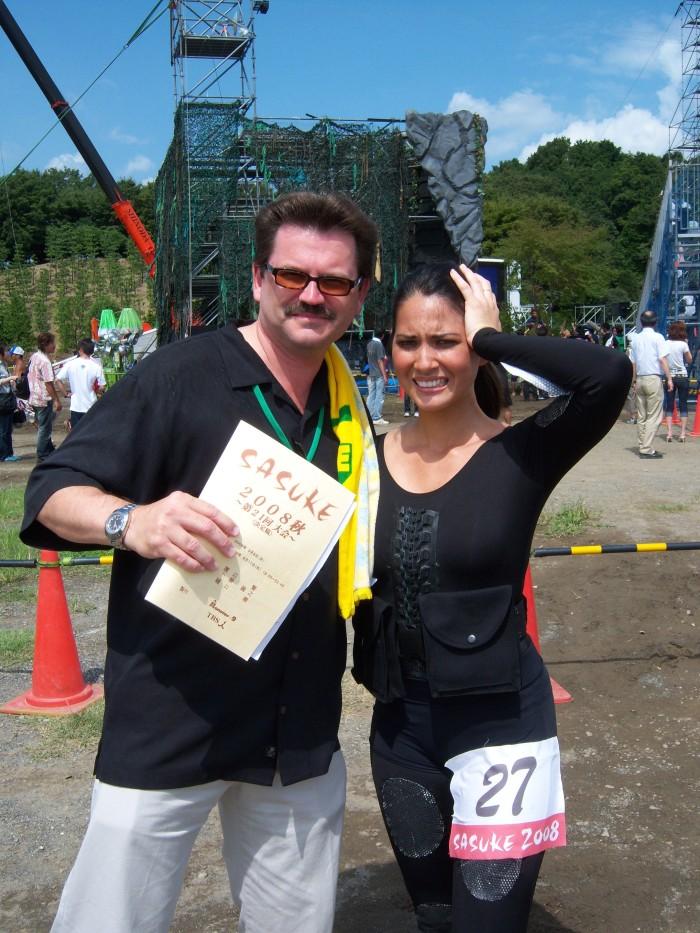 Olivia Munn Ninja Warrior John Rieber