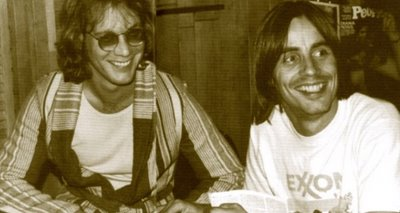 Warren Zevon and Jackson Browne