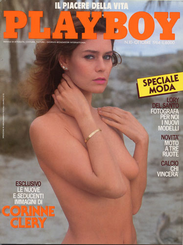 Corrine Clery Playboy cover