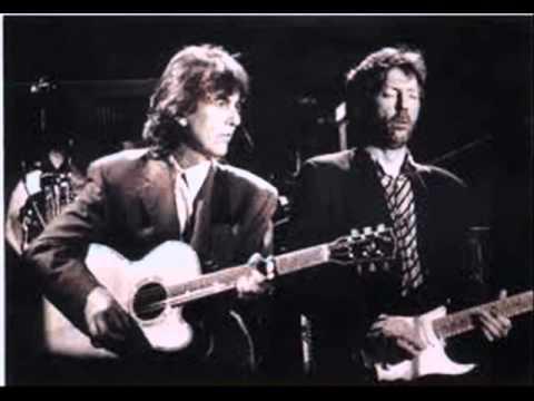 Geroge Harrison Eric Clapton
