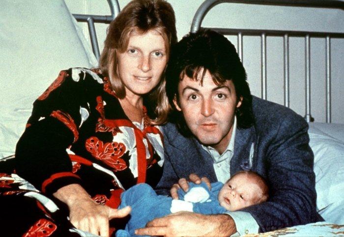 Linda Paul and James McCartney