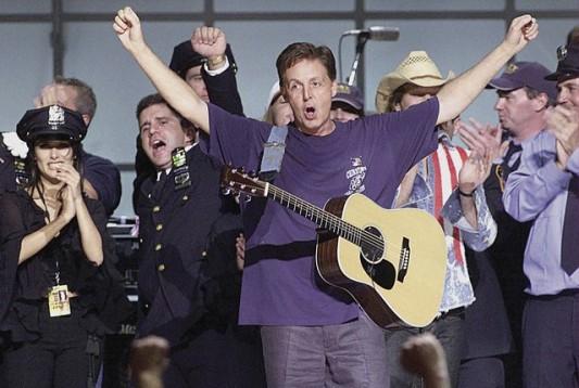 Paul McCartney 911 concert