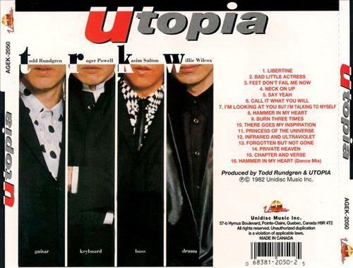 Utopia album 1982