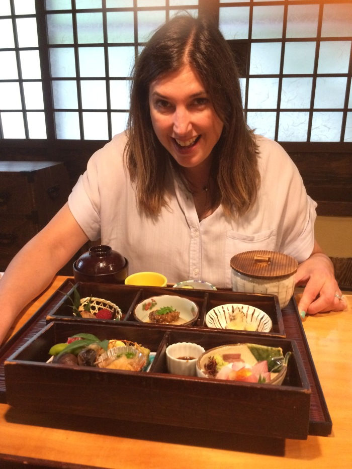 Alex and her musical bento box