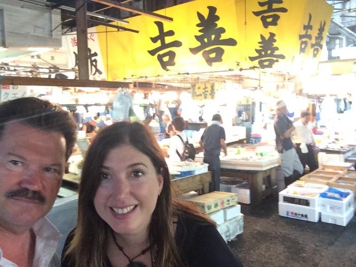 Alex and John tokyo fish market