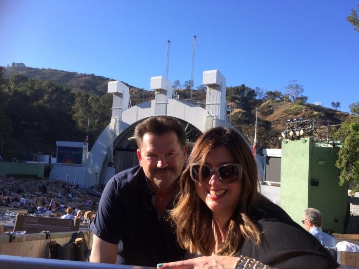 Alex and JR at Diana Ross Hollywood Bowl
