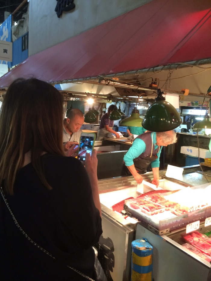 Alex Duda Tokyo fish market