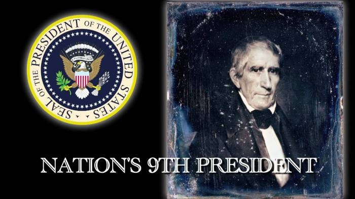 america's 9th president harrison