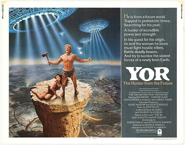 campy 80's movies Yor
