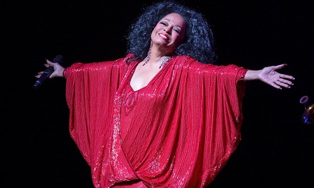 Diana Ross at the Hollywood Bowl