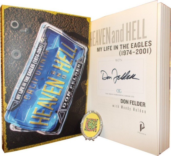 Don Felder book Heaven And Hell