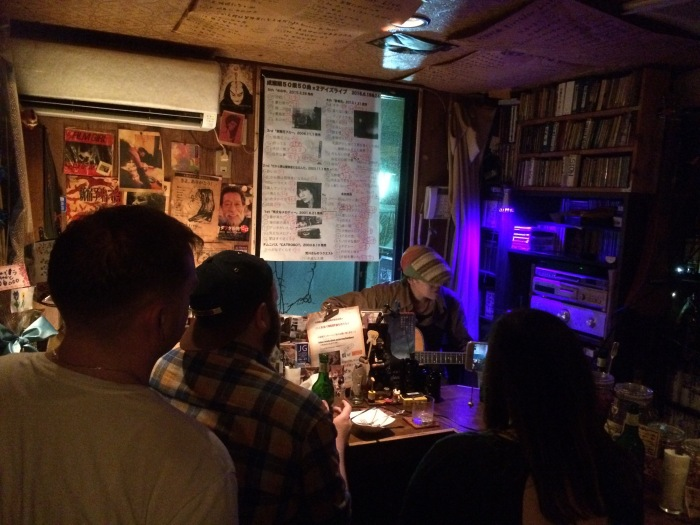 Golden Gai bar music