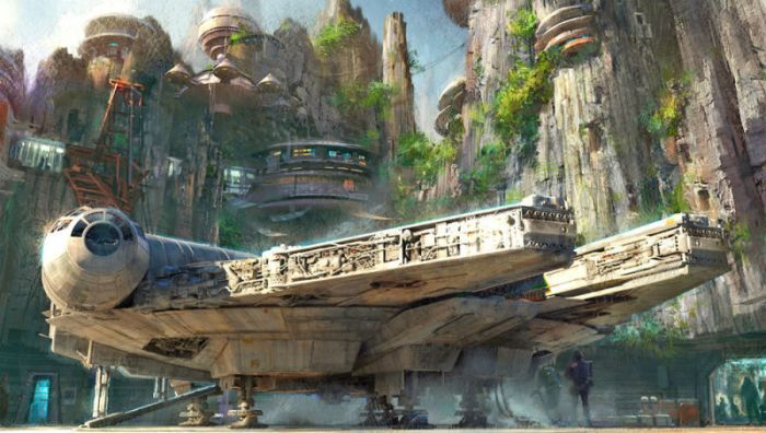 new Disneyland Star Wars park