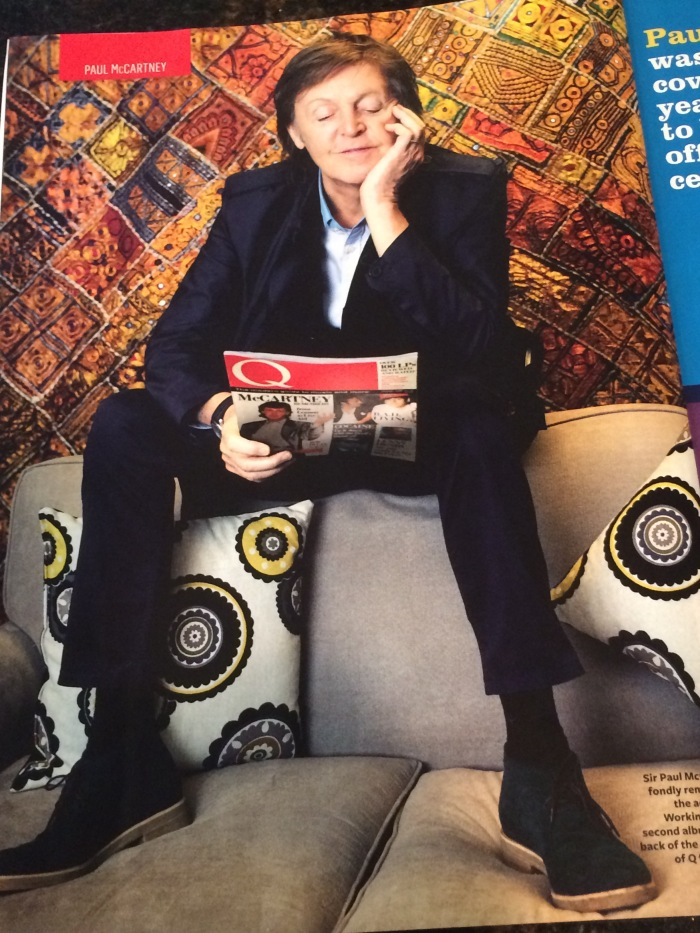 Paul McCartney Q magazine 30th anniversary