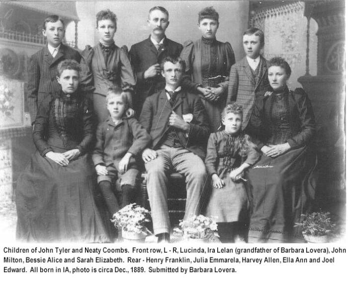 President John Tyler family