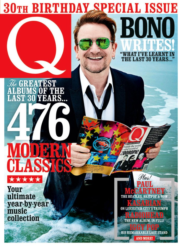 Q magazine 30th anniversary