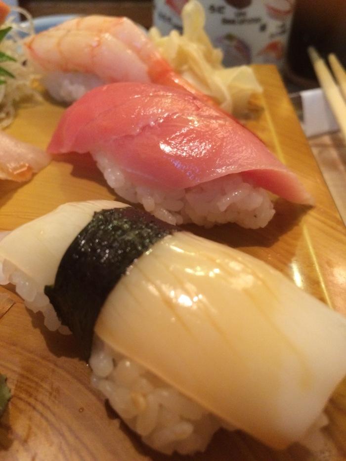 Tokyo breakfast sushi 2016 Tsukiji fish market closing