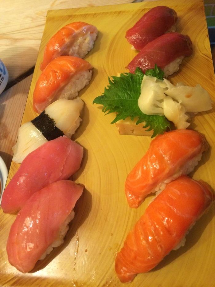 Tokyo sushi bars