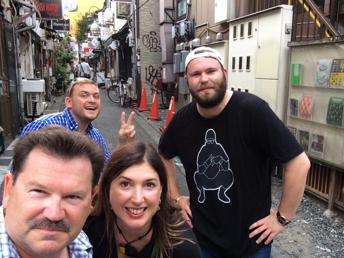 Us in Golden Gai
