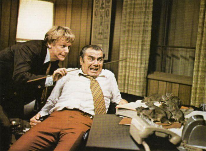 willard `1971 horror film ernest borgnine